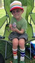 even the littles love wearing the pride socks retro snap back trucker hats