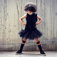 How do you like my black rainbow socks