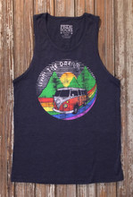 living the dream mens tank with prides socks