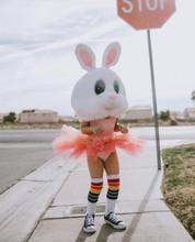 getting creative with my yolo rainbow striped pride socks
