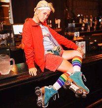 claim your style and live that yolo life however your pride socks lead you.