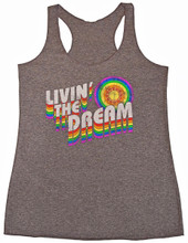 living the dream pride socks vintage tank.