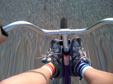 no matter what kind of rider you are, your pride socks will take pride in your ride.