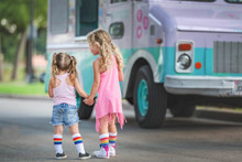 match your sister in our pride Socks rainbow kid socks while you eat ice cream