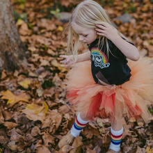 Live in the moment and make the most of each journey while feeling free in your retro rainbow tube socks