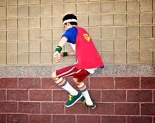 i am a proud super hero in my pride socks
