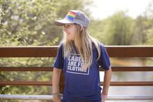 be kind. rock your pride socks snap back trucker hat