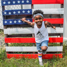 our kid tube socks are proudly made in the usa.
