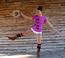 giddy up in your pride socks and cowboy boots.
