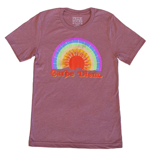 Seize your day with pride socks vintage tshirt