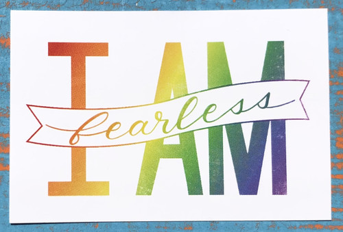 Pride Socks empowers individuals to take pride in who they are.  Use our stickers as a reminder to be fearless when it feels like the world is against you.