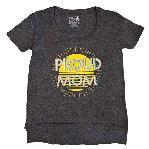 Let the world know you are one proud mom while rocking your pride socks proud mom shirt