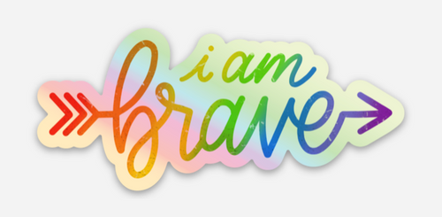 let the world know you are brave by placing your pride socks sticker on your water bottle, computer and let it serve as a reminder how awesome you are!