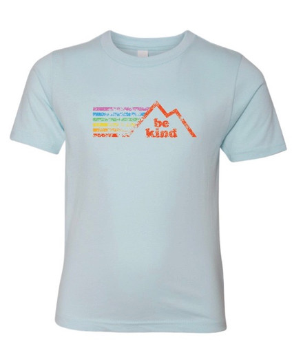 Let your kids rock the be kind pride socks rainbow retro be kind shirt and be the example and leader they naturally are.
