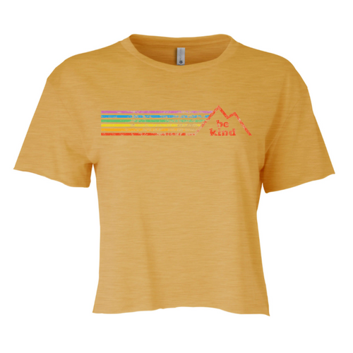 wear your crop top rainbow pride socks shirt when ever you run, exercise, roller skate or work out.  show off your pride fashion when you wear your pride socks crop top rainbow be kind shirt.