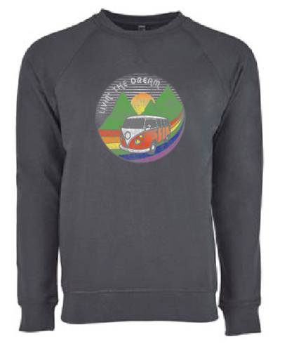 put on your pride socks  sweatshirt as you chase your dreams on your road trip adventure.  pride socks is based in austin tx but your adventures are where ever you take yourself.