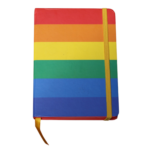 full rainbow journal to express your love for yourself and your community from pride socks in austin texas