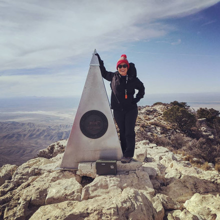 ...making it to the top of Texas!
