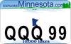 Minnesota ATV / UTV Custom License Plate