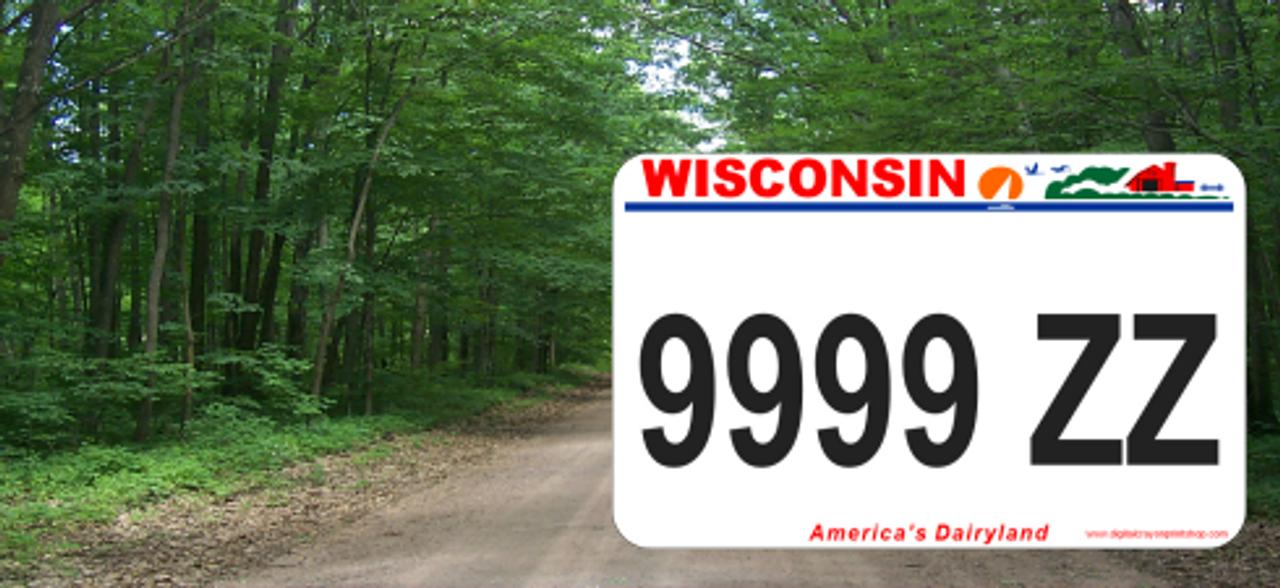Wisconsin ATV UTV Plate