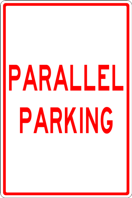 Parallel Parking sign