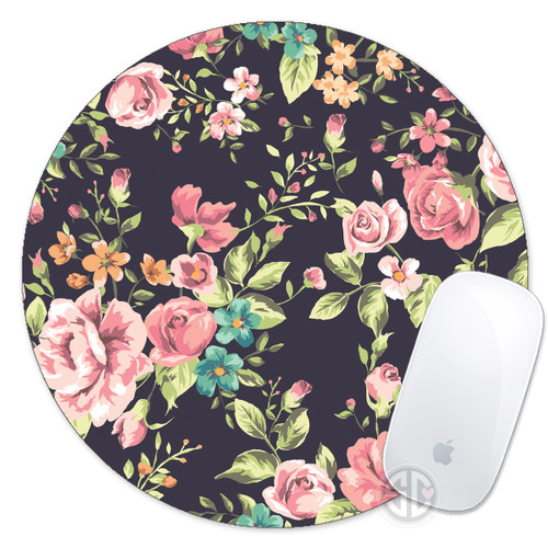 Mouse Pad Floral Roses Mousepad