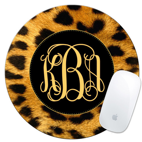 personalized mouse pad cheetah leopard mousepad mousemat mouse mat