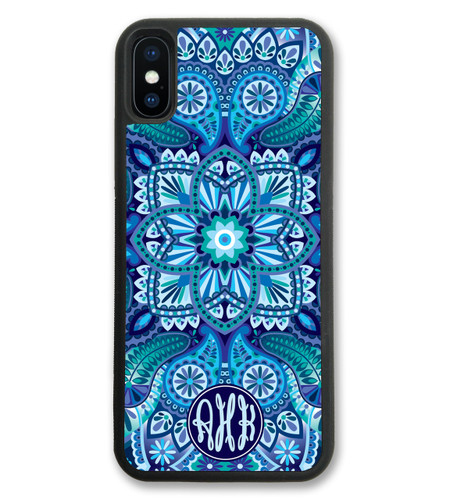 Blue Ornamental iPhone Case