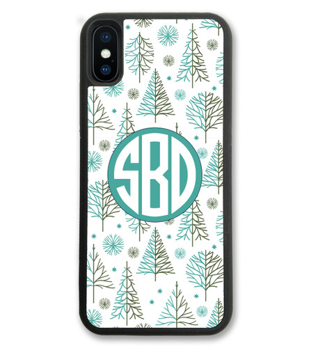 iPhone Case - Holiday Christmas Cute Trees