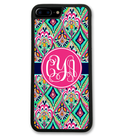 Floral Jewels iPhone Case