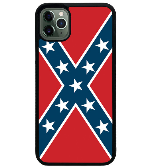 Rebel Flag iPhone Case - Confederate Flag iPhone Case iPhone 11 Pro Max 8 7 6 X XS XR XSM Max