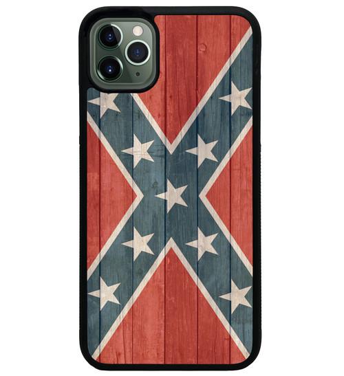 Rebel Flag iPhone Case Distressed Wood - Confederate Flag iPhone Case 11 pro max xs x xr xsm max 7 8 6 Plus