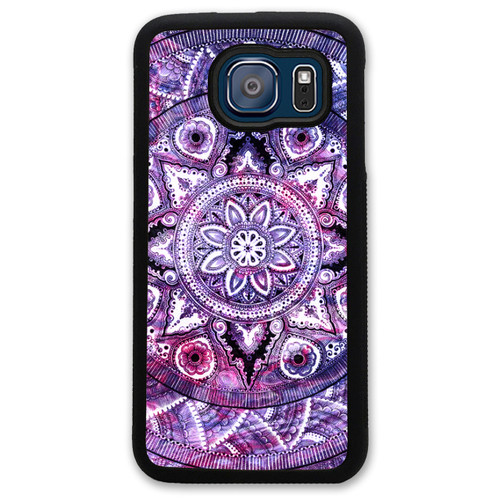 Custom Samsung Case - Purple Mandala