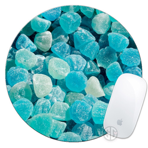 Mouse Pad Turquoise Crystals Mousepad