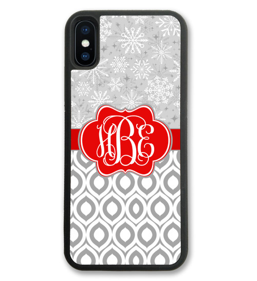 Cute Christmas iPhone X Case, iPhone 10 Case, iPhone 8 Case, iPhone 8 Plus Case, iPhone 7 Plus Case, iPhone 7 Case, iPhone 6 Case, iPhone 6S Case, iPhone 6 Plus Case, iPhone 6S Plus Case, iPhone 5 Case, iPhone 5S Case, iPhone SE Case, iPhone 11 case, monogrammed