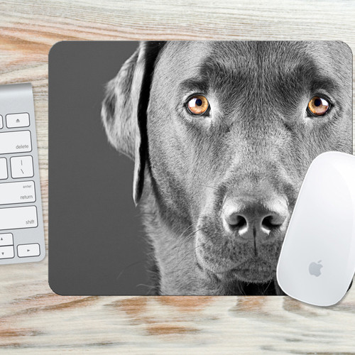 Dog Mouse Pad - Labrador Retreiver Mouse Pad - Dog Mouse Mat