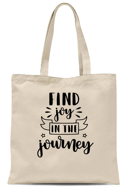 Inspirational Quotes Large Reusable Shopping Bag Linen Canvas Washable