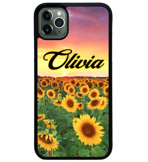 Sunrise Sunflowers iPhone Case