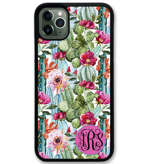 Floral Cactus iPhone 11 Case