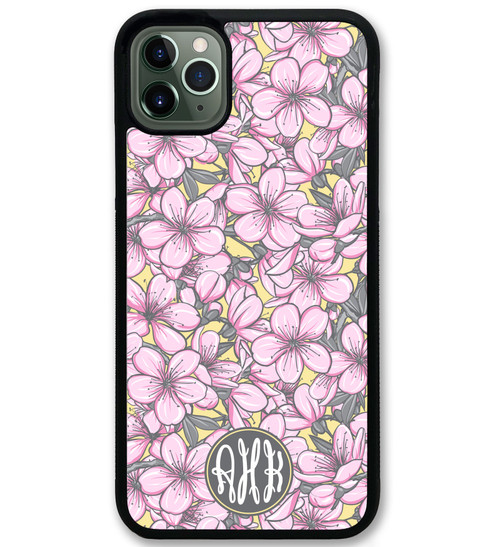 Pretty Pink Flowers iPhone 11 Case