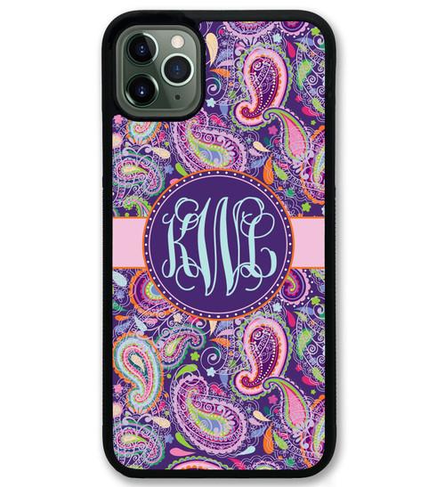 Purple Paisley iPhone 11 Case