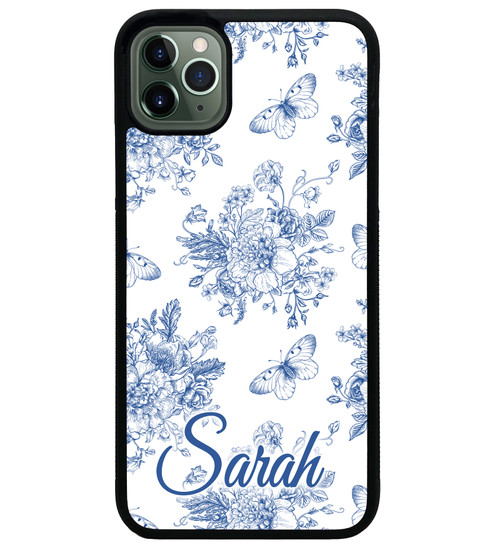 Blue Garden iPhone 11 Case