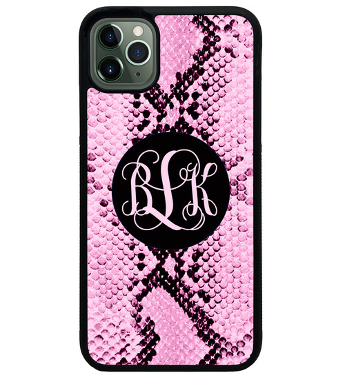 Pink Snake Skin iPhone 11 Case