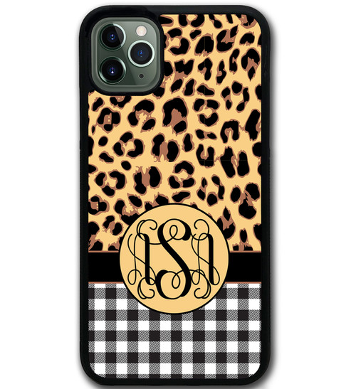 Cheetah Leopard Buffalo Print iPhone 11 Case Animal Print