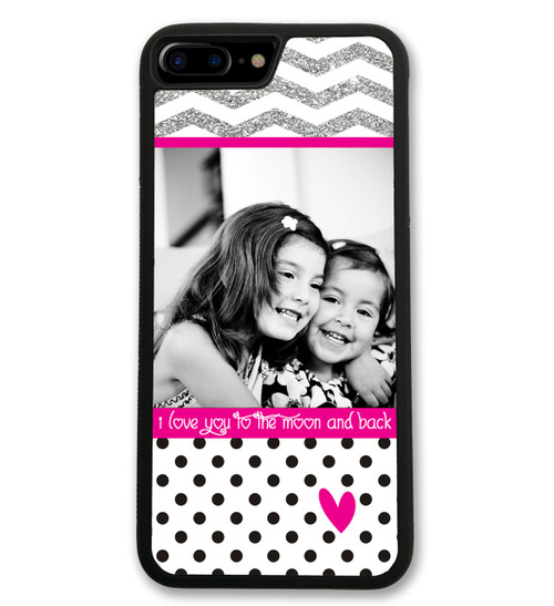 i love you to the moon and back iphone case photo
