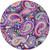 Mouse Pad Purple Paisley Mousepad