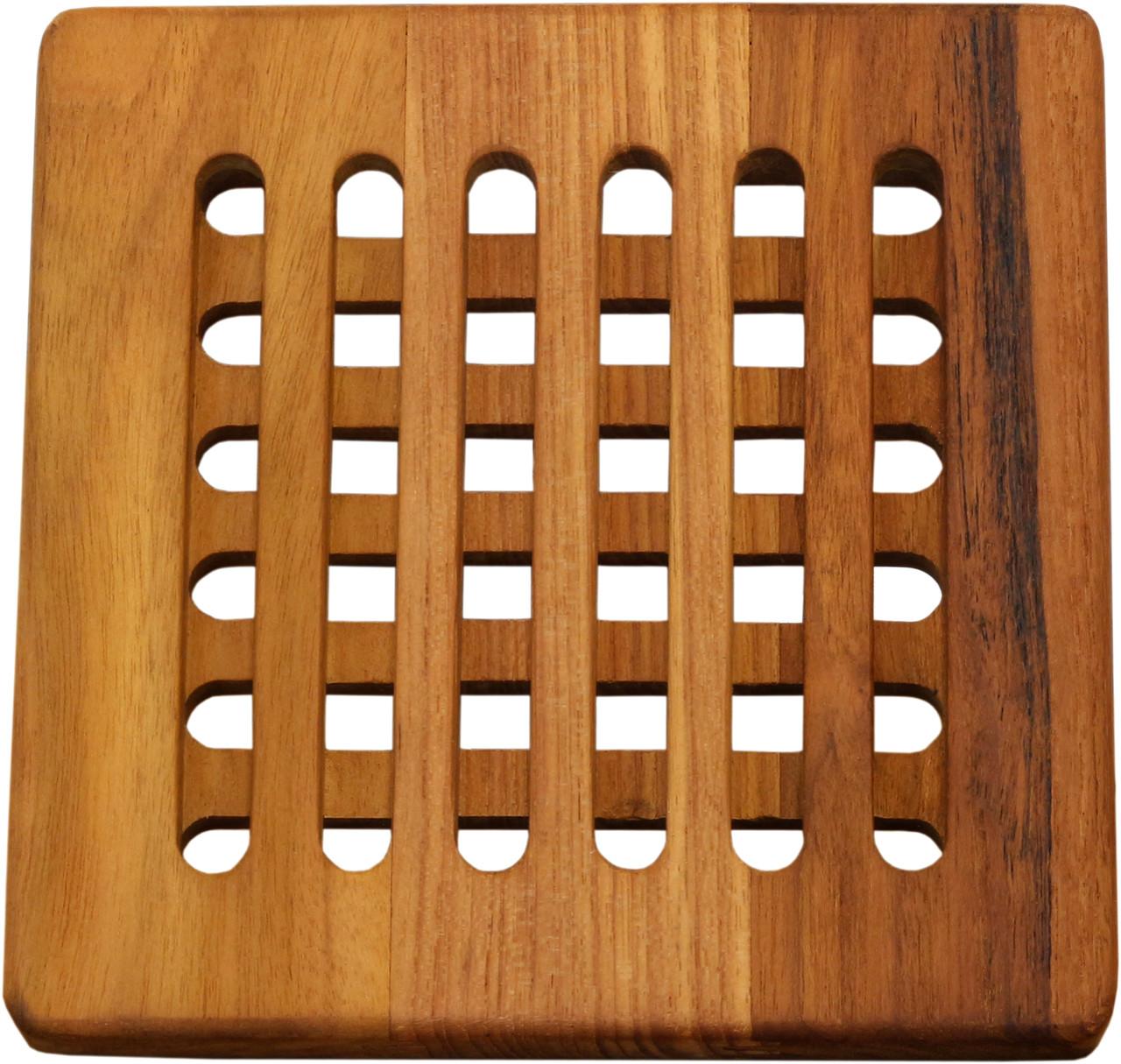 Teak Wood Trivet Protect Your Kitchen Surfaces With Elegance Aquateak