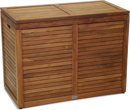 Manada™ Large-Size Double Teak Storage Chest