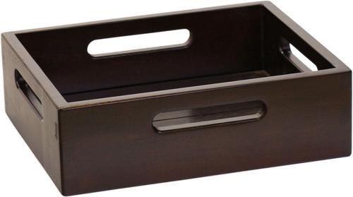 Moa™ Mocha-Shield Small Size Teak Storage Tray