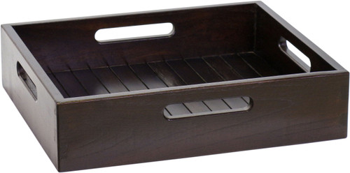 Moa™ Mocha-Shield Large Size Teak Storage Tray